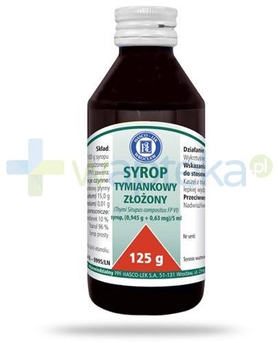 Hasco syrop tymiankowy złożony 125 g
