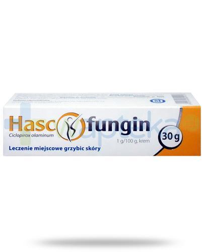 Hascofungin 1g/100g  krem na grzybicę skóry 30 g