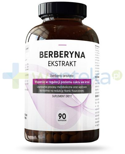 Hauster Berberyna ekstrakt 90 kapsułek