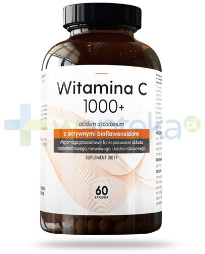 Hauster Witamina C 1000+ z aktywnymi bioflawonoidami 60 kapsułek