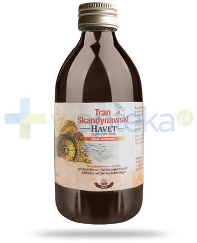 Havet tran skandynawski o smaku wiśniowym 250 ml