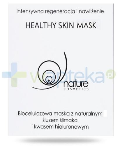 Healthy Skin Mask biocelulozowa maska do twarzy w płacie z naturalnym śluzem ślimaka 1 sztuka