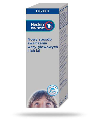 Hedrin płyn przeciw wszawicy 50 ml
