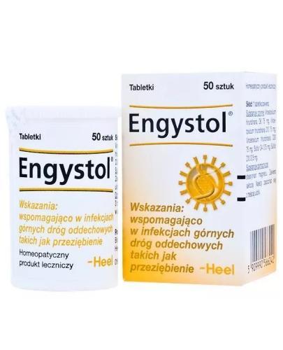 HEEL Engystol siły obronne 50 tabletek