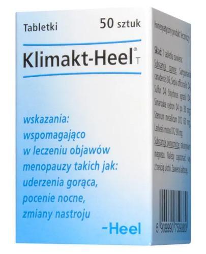 HEEL Klimakt-Heel T 50 tabletek