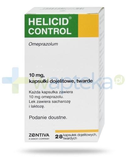 Helicid Control 10mg 28 kapsułek