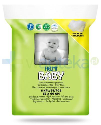 Helmi Baby podkłady do przewijania niemowląt 58cm x 60cm 6 sztuk