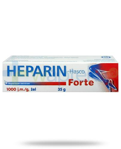 Heparin Hasco Forte żel 35 g