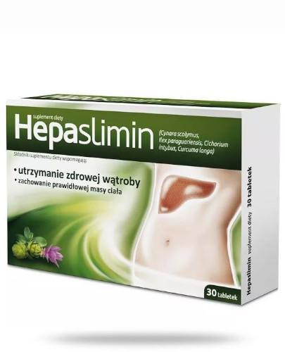 Hepaslimin 30 tabletek