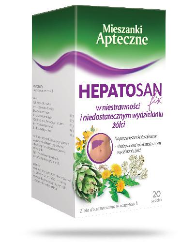 Heptosan Fix 20 szasetek