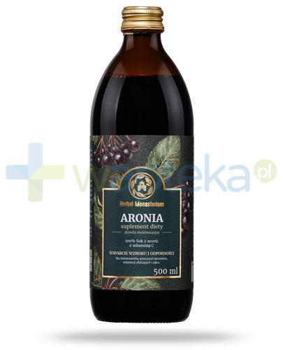 Herbal Monasterium Aronia naturalny sok z aronii z witaminą C 500 ml