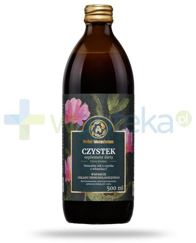 Herbal Monasterium Czystek naturalny sok z czystka z witaminą C 500 ml