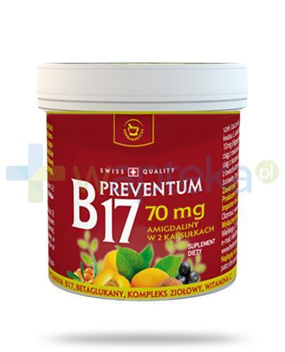 Herbamedicus B17 Preventum 70mg 75 kapsułek