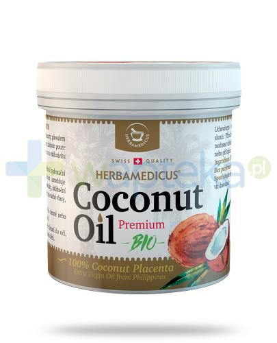 Herbamedicus Coconut Oil Premium Bio olej kokosowy 250 ml