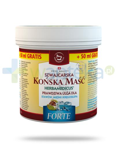 Herbamedicus Końska maść Forte chłodząca 250 ml