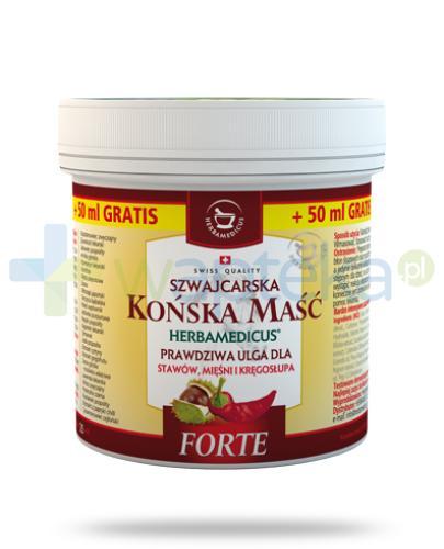 Herbamedicus Końska maść Forte rozgrzewająca 250 ml