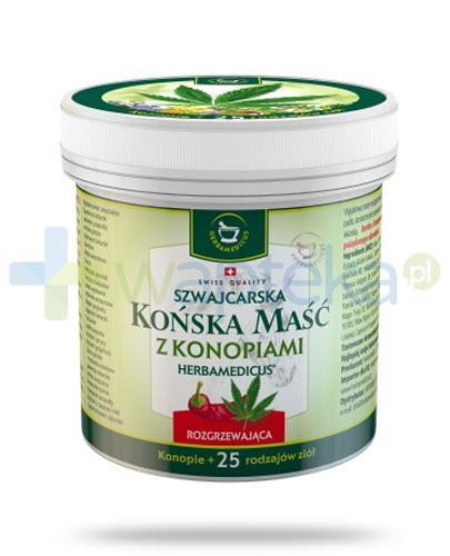 Herbamedicus Końska maść rozgrzewająca z konopiami 250 ml