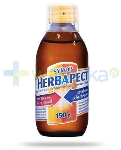 Herbapect syrop bez cukru 150 ml
