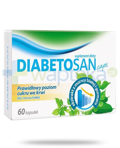 Herbapol Diabetosan Caps 60 kapsułek