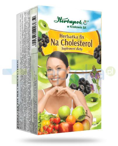 Herbapol Herbatka fix Na cholesterol 20 saszetek