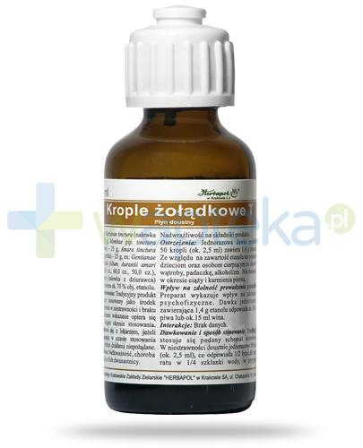 Herbapol krople żołądkowe T, płyn doustny 35 ml
