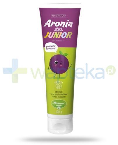 Herbapol Tylko Natura Aronia żel Junior galaretka owocowa dla dzieci 3+ na odporność 100 g