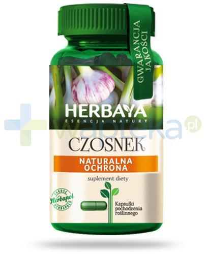 Herbaya Czosnek, naturalna ochrona 60 kapsułek