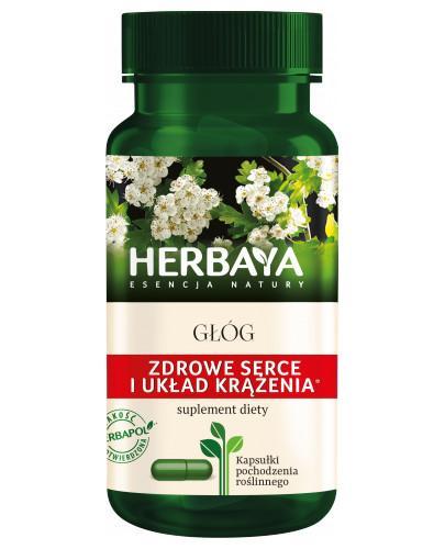 Herbaya Głóg, zdrowe serce 60 kapsułek