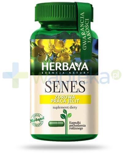 Herbaya Senes, prawidłowa praca jelit 60 kapsułek
