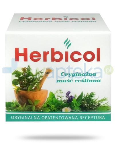 Herbicol roślinna maść rozgrzewająca do nacierania i inhalacji 75 ml