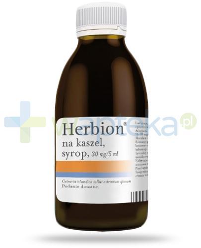 Herbion na kaszel 30mg/5ml, syrop 150 ml