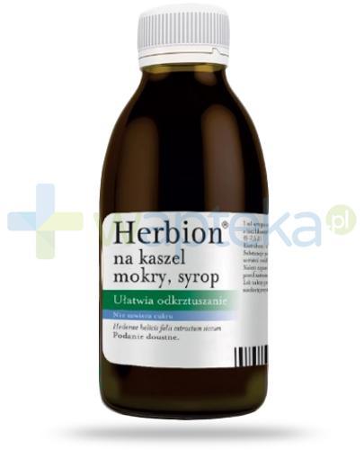 Herbion na kaszel mokry 7mg/ml, syrop 150 ml