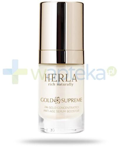 Herla Gold Supreme skoncentrowane serum odmładzające 15 ml