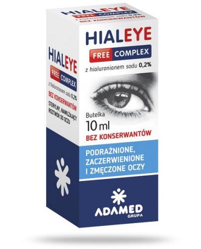 Hialeye Free Complex 0,2% krople do oczu 10 ml