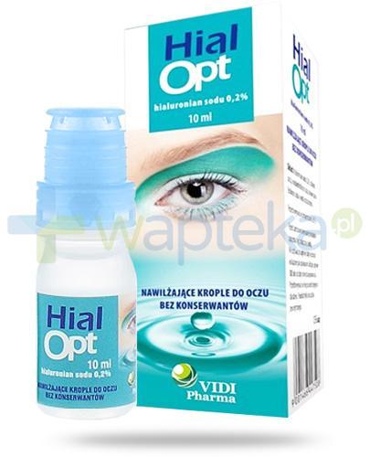 HialOpt nawilżające krople do oczu 10 ml