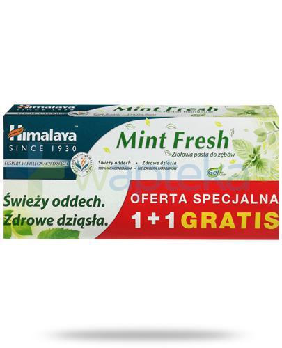 Himalaya Gum Expert Mint Fresh żelowa pasta do zębów 2x 75 ml