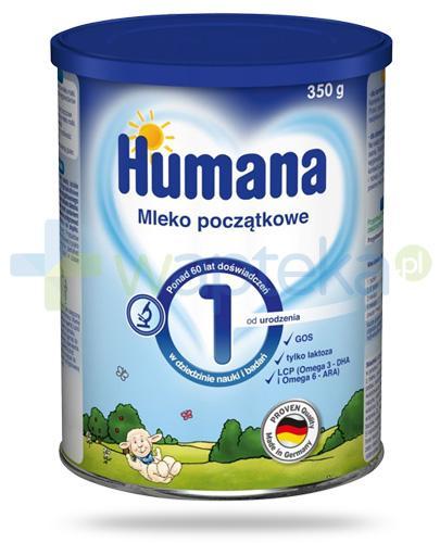 Humana 1 mleko początkowe od urodzenia 350 g