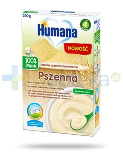 Humana 100% Organic kaszka bezmleczna pszenna 200 g