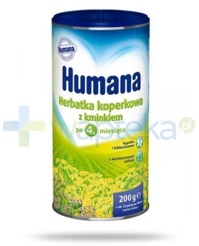 HUMANA Herbatka z kopru włoskiego z kminkiem granulat 200g [Data ważności 21-04-2018]