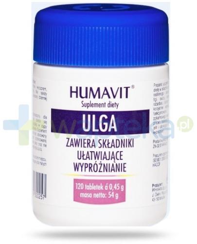 Humavit Ulga 120 tabletek