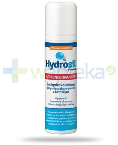 Hydrosil Leczenie opażeń żel hydrokoloidowy z kompleksem srebra i karnozyną 75 g