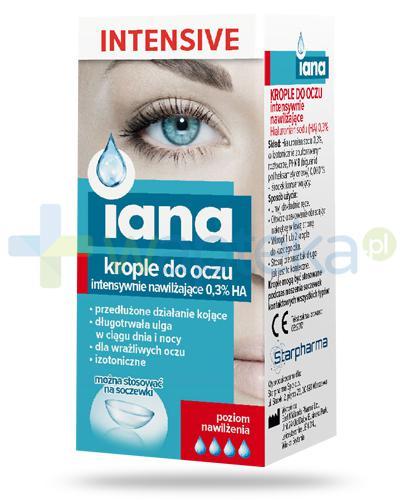 Iana Intensive krople do oczu intensywnie nawilżające 0,3% HA 10 ml