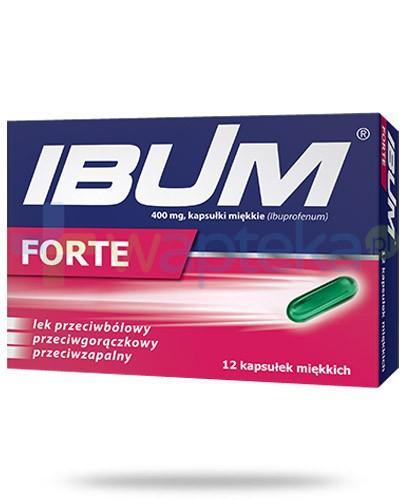 Ibum Forte 400mg 12 kapsułek