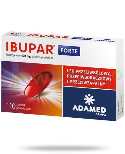 Ibupar Forte 400mg 10 tabletek
