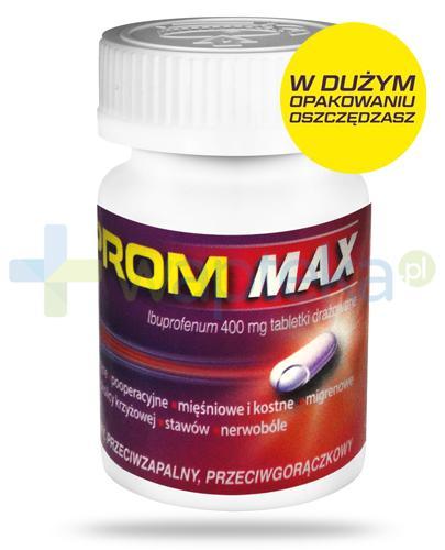 Ibuprom Max 400mg 48 tabletek