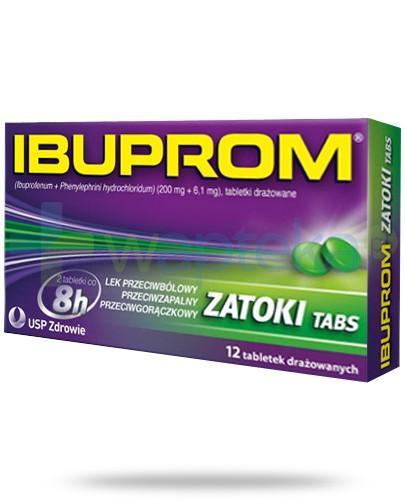 Ibuprom Zatoki Tabs 12 tabletek