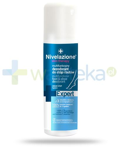 Ideepharm Nivelazione Skin Therapy Expert multifunkcyjny dezodorant do stóp i butów 150 ml