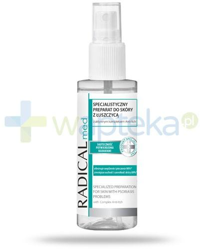 Ideepharm Radical Med specjalistyczny preparat do skóry z łuszczycą w sprayu 50 ml