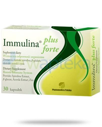 Immulina Plus Forte 200mg 30 kapsułek