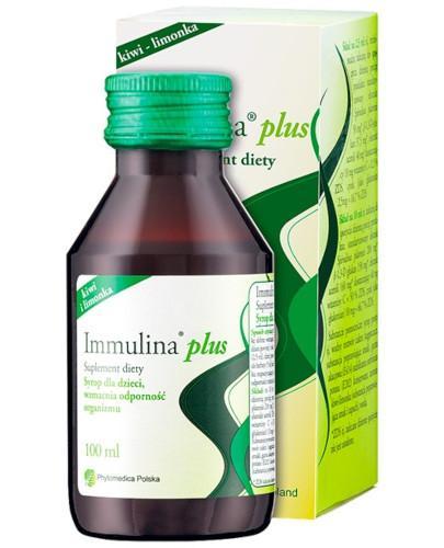Immulina Plus syrop dla dzieci 100 ml